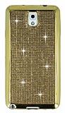 Eiroo Samsung N9000 Galaxy Note 3 Ta�l� Gold Silikon K�l�f