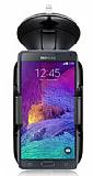 Eiroo Samsung N9100 Galaxy Note 4 Siyah Araç Tutucu