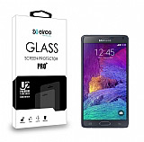 Eiroo Samsung N9100 Galaxy Note 4 Tempered Glass Cam Ekran Koruyucu