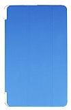 Eiroo Samsung T560 Galaxy Tab E Slim Cover Mavi Kılıf