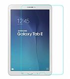 Eiroo Samsung T560 Galaxy Tab E Tempered Glass Tablet Cam Ekran Koruyucu