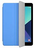Eiroo Samsung T820 Galaxy Tab S3 9.7 Slim Cover Mavi Kılıf
