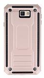 Eiroo Screwed Power Samsung Galaxy J7 Prime Ultra Koruma Rose Gold Kılıf