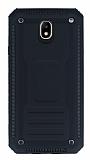 Eiroo Screwed Power Samsung Galaxy J7 Pro 2017 Ultra Koruma Siyah Kılıf