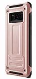 Eiroo Screwed Power Samsung Galaxy Note 8 Ultra Koruma Rose Gold Kılıf