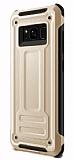 Eiroo Screwed Power Samsung Galaxy Note 8 Ultra Koruma Gold Kılıf