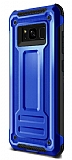 Eiroo Screwed Power Samsung Galaxy Note 8 Ultra Koruma Lacivert Kılıf
