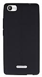 Casper Via M1 Deri Desenli Ultra İnce Siyah Silikon Kılıf