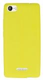 Casper Via M1 Deri Desenli Ultra İnce Sarı Silikon Kılıf