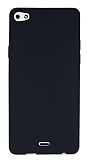 Eiroo Seams Casper Via V10 Deri Desenli Ultra �nce Siyah Silikon K�l�f
