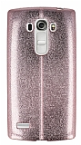 Eiroo Seams Fit LG G4 Beat Ultra �nce Metalik Rose Gold Silikon K�l�f