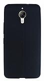 General Mobile GM 5 Plus Deri Desenli Ultra İnce Siyah Silikon Kılıf