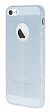 Eiroo Seams iPhone 5 / 5S Deri Desenli Ultra �nce �effaf Silikon K�l�f