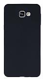 Samsung Galaxy A9 Deri Desenli Ultra İnce Siyah Silikon Kılıf