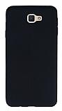 Eiroo Seams Samsung Galaxy J5 Prime Deri Desenli Ultra İnce Siyah Silikon Kılıf