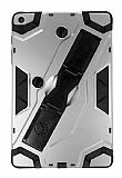 Eiroo Sheathing iPad Air / Air 2 Kalemlikli Ultra Koruma Dark Silver Kılıf