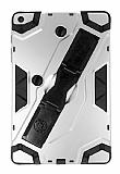 Eiroo Sheathing iPad Air / Air 2 Kalemlikli Ultra Koruma Silver Kılıf