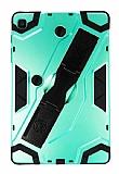 Eiroo Sheathing Samsung Galaxy Tab A 8.0 T290 Kalemlikli Ultra Koruma Yeşil Kılıf