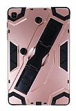 Eiroo Sheathing Samsung Galaxy Tab A 8.0 T290 Kalemlikli Ultra Koruma Rose Gold Kılıf