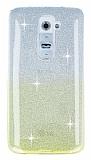Eiroo Sheenful LG G2 Sarı Silikon Kılıf