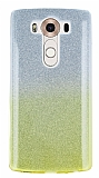 Eiroo Sheenful LG V10 Sarı Silikon Kılıf
