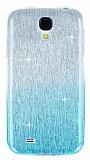 Eiroo Sheenful Samsung i9500 Galaxy S4 Mavi Silikon K�l�f