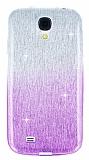 Eiroo Sheenful Samsung i9500 Galaxy S4 Mor Silikon K�l�f