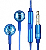 Eiroo Shiny Series Mikrofonlu Kulaki�i Mavi Kulakl�k