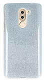 Eiroo Silvery Huawei GR5 2017 Simli Silver Silikon Kılıf