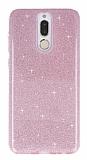 Eiroo Silvery Huawei Mate 10 Lite Simli Pembe Silikon Kılıf