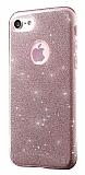 Eiroo Silvery iPhone 7 Rose Gold Silikon K�l�f