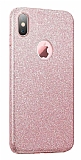 Eiroo Silvery iPhone XS Max Simli Silikon Kılıf