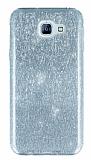 Eiroo Silvery Samsung Galaxy A8 2016 Silver Silikon Kılıf