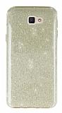 Eiroo Silvery Samsung Galaxy J5 Prime Gold Silikon Kılıf