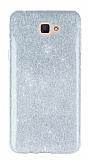 Eiroo Silvery Samsung Galaxy J7 Prime Silver Silikon Kılıf