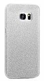 Eiroo Silvery Samsung Galaxy Note 5 Silver Silikon Kılıf