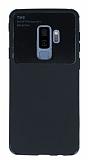 Eiroo Simplified Samsung Galaxy S9 Plus Siyah Silikon Kılıf
