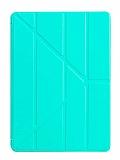 Eiroo Slim Cover2 iPad Air 10.2 Turkuaz Kılıf