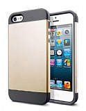 Eiroo Slim Power iPhone 4 / 4S Gold K�l�f