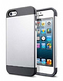 Eiroo Slim Power iPhone 4 / 4S Silver K�l�f