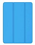 Eiroo Smart iPad 2 / 3 / 4 Kapaklı Mavi Deri Kılıf