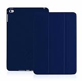 Eiroo Smart iPad Air / iPad 9.7 Kapaklı Lacivert Deri Kılıf