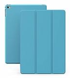 Eiroo Smart iPad mini 4 Kapaklı Mavi Deri Kılıf