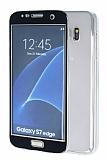 Eiroo Smart Touch Samsung Galaxy S7 Edge Tam Koruma Siyah Silikon K�l�f