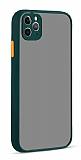 Eiroo Soft Touch iPhone 11 Pro Ultra Koruma Yeşil Kılıf