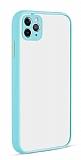 Eiroo Soft Touch iPhone 11 Pro Ultra Koruma Turkuaz Kılıf