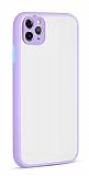 Eiroo Soft Touch iPhone 11 Pro Ultra Koruma Lila Kılıf