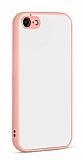 Eiroo Soft Touch iPhone 7 / 8 Ultra Koruma Pembe Kılıf