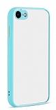 Eiroo Soft Touch iPhone 7 / 8 Ultra Koruma Turkuaz Kılıf