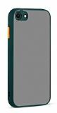 Eiroo Soft Touch iPhone 7 / 8 Ultra Koruma Yeşil Kılıf